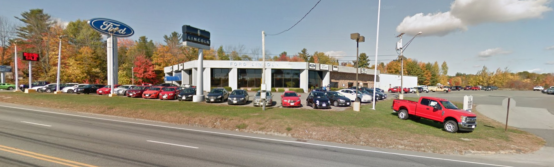Ray Haskell Ford Lincoin Maine