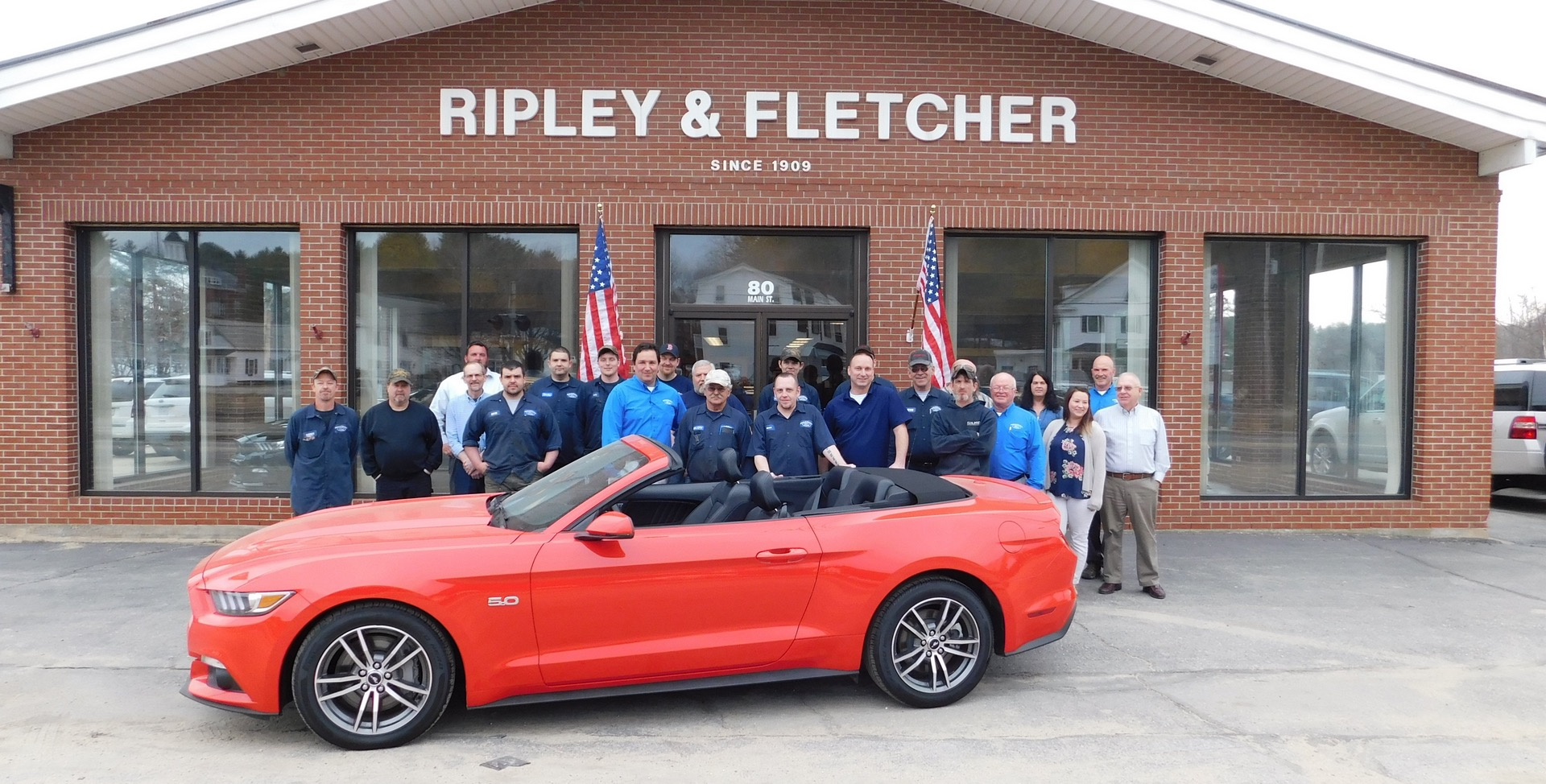 Ripley Fletcher Ford Maine